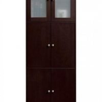 Dark brown standing cabinet