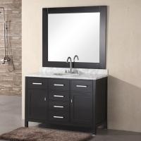 Design Element London 48 single bathroom vanity