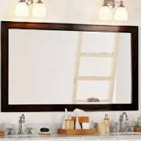 Pottery Barn console mirror