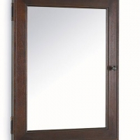Pottery Barn recessed mirror