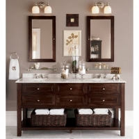 Pottery Barn classic double sink