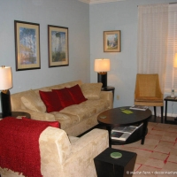 Living room furniture with new side tables