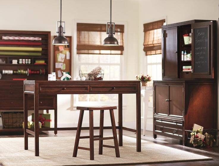 Wood storage cart marilyn fenn decor for Martha stewart furniture
