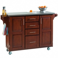 Kitchen cart as taboret