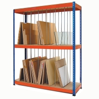Vertical painting storage