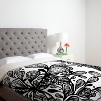 deny-designs-julia-da-rocha-wild-leaves-duvet-cover-collection