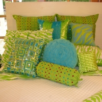 fancy-lime-pillows-and-zebra-daybed