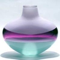 artful-home-flattened-banded-vase-light-lavender-amethyst-celadon