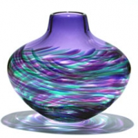 artful-home-flattened-vortex-vase-purple