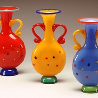 artful-home-red-spotted-bottle