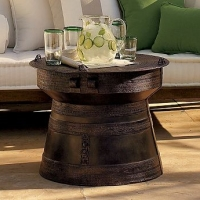 pottery-barn-frog-rain-drum-accent-table