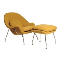 saarinen-womb-chair-and-ottoman_yellow-angle