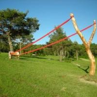 bench-with-slingshot-sculpture