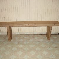 wood-farm-table bench