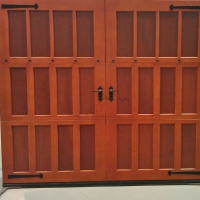 Carriage doors