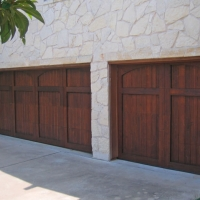 Carriage doors dark oak doors