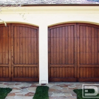 Carriage doors mediterranean