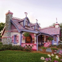 Full size doll house