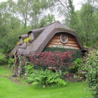 Tiny house in the Scottish highlands