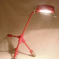 ikea_funky_wheeled_red_desk_lamp