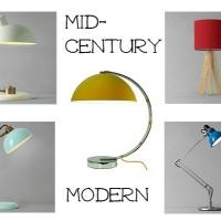 Mid-century lamps