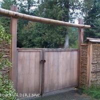 Cascade garden gate
