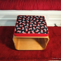 Cat in the hat cushion