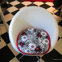 Cushion for Ikea Skruvsta chair