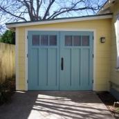 Homemade Carriage Doors