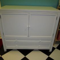 Received and assembled another storage cabinet