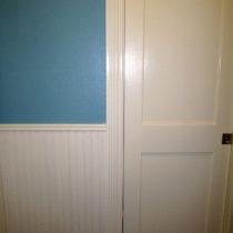 Painted 3 doors – door number 3