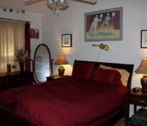 Bedroom before painting