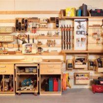 Example Slat Shelf System via Pinterest