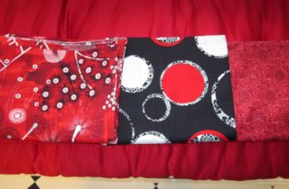 First three pillow fabrics