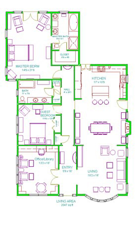 Floor Plan Marilyn Fenn Decor