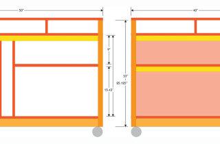Framing table design