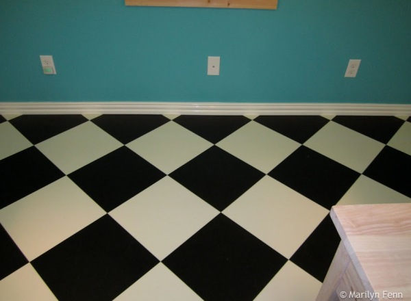 Installed about 100 linear feet of baseboard…