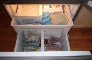 Lots of room in the bottom freezer