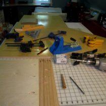 Making sample pocket holes