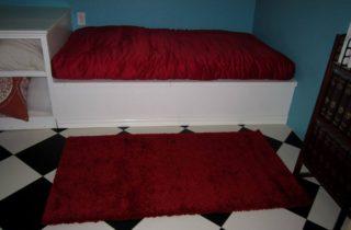 New red futon