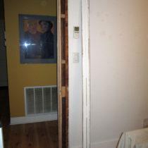 Removing door casing