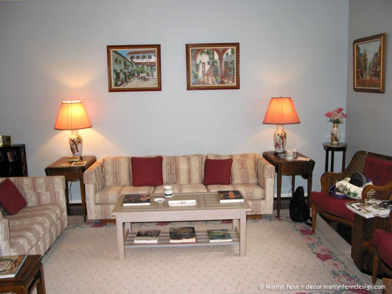 Living room furniture - Before