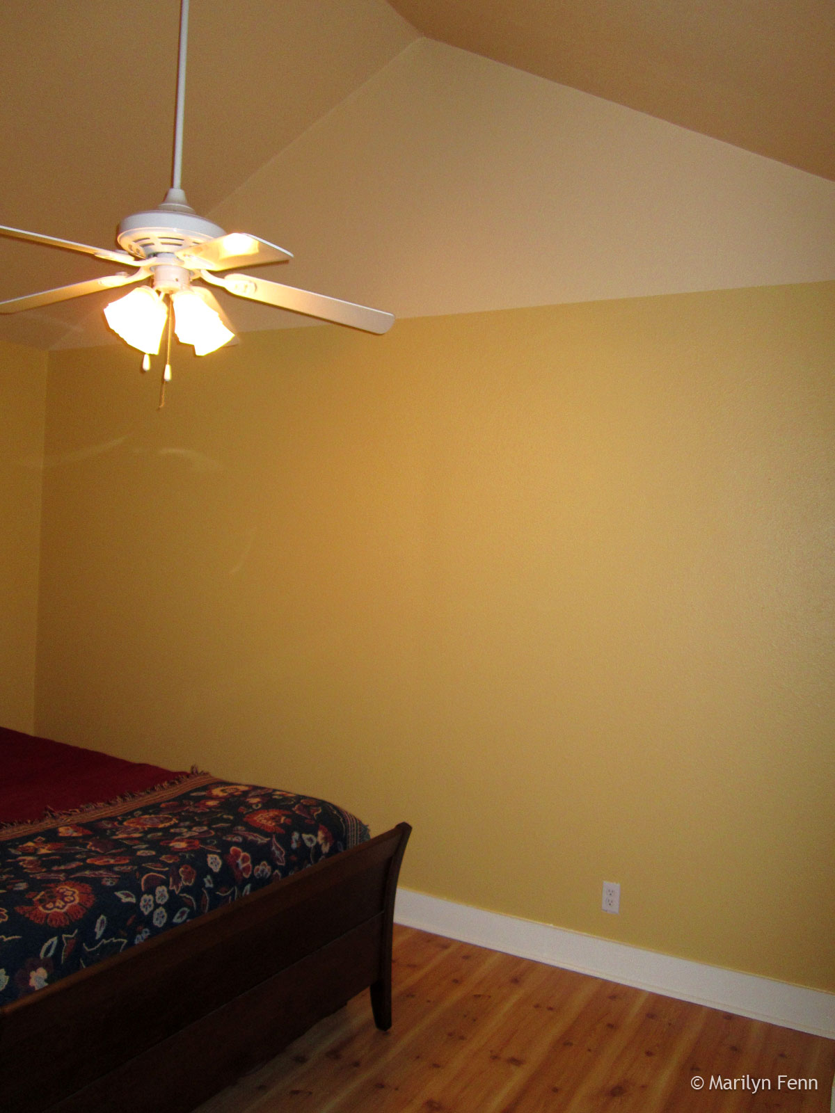 Finished painting the bedroom marilyn fenn decor well be putting up crown molding complete with rope lights where one color meets the other mozeypictures Gallery