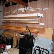 Wood-storage – Before
