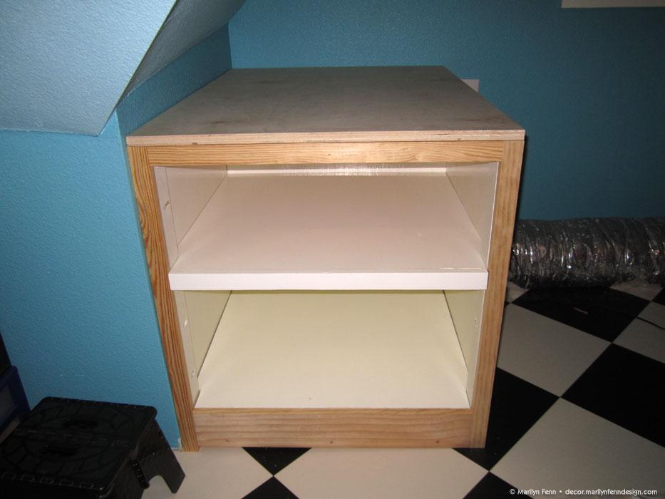 6 - Added top shelf