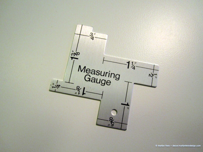 Measuring gauge