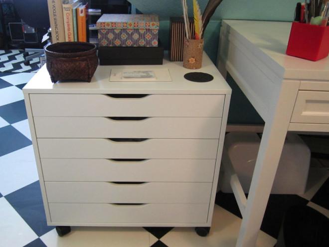 New Alex drawers for fabric storage