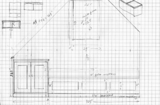 Interior Illustration-Attic Remodel Sketches-Daybed-04