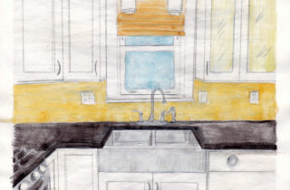 Interior Illustration-Kitchen-01