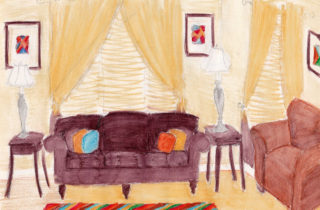 Interior Illustration-Living Room-01